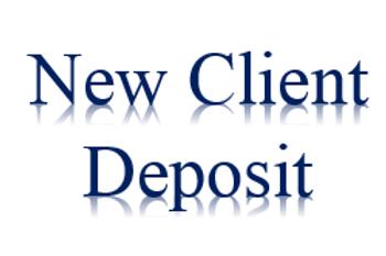 New Client Deposit