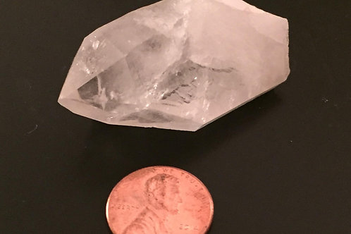 Arkansas Clear Quartz Point, med. #107