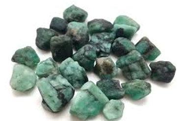 Emerald, raw
