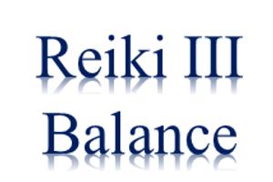 Reiki III Balance