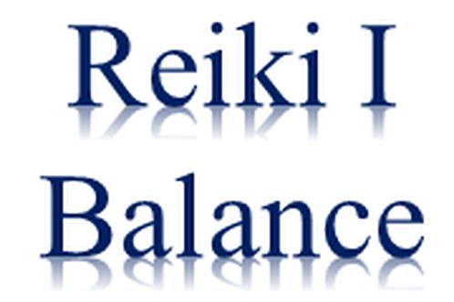 Reiki I Balance