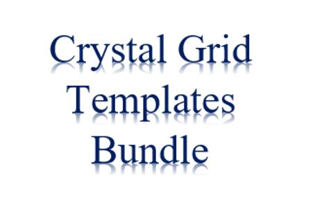 5 Crystal Grid Templates Bundle