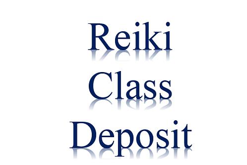 Reiki Class Deposit