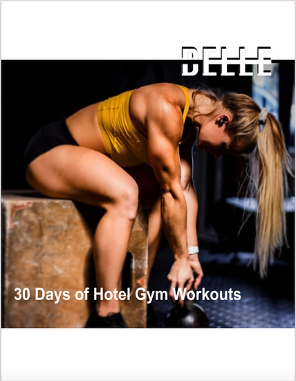 30 Days of Hotel Gym Workouts