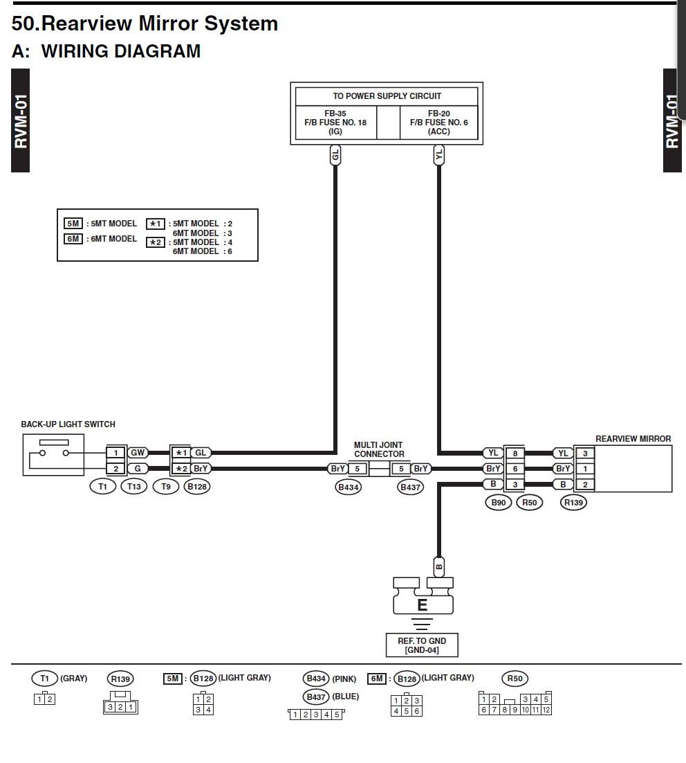Subaru Auto Dimming Mirror Wiring Diagram Wiring Diagram Schematic Hen Store Hen Store Aliceviola It