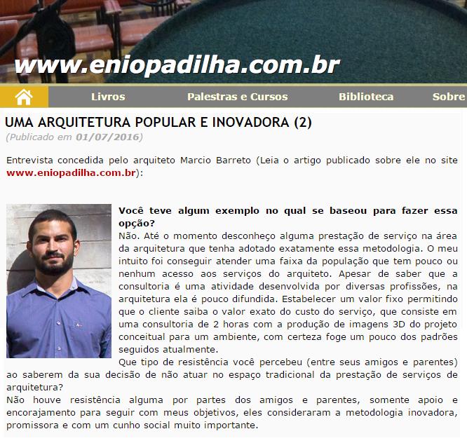 MATERIA ENIO PADILHA