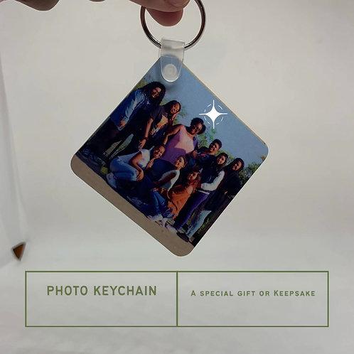 "Photo Key Chain ""2.25"" Square"""