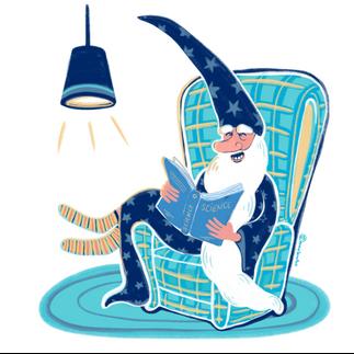 El mago que leía sobre ciencia