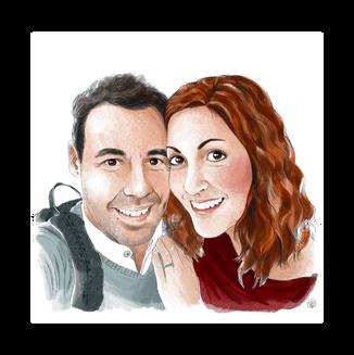Retrato en pareja