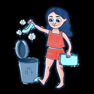Cenicienta recicla