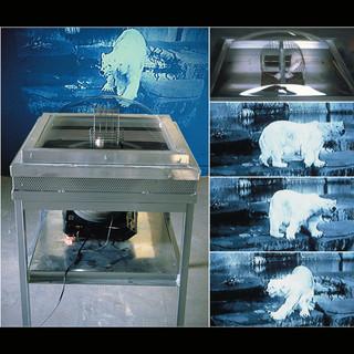 Mouse & a Polar bear
