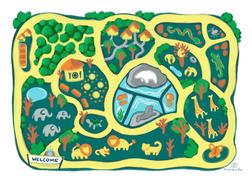 Mapa del zoo