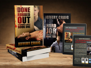"New Books Released! ""Done Rubbed Out"", and ""Hard Job"", books one and two of the"
