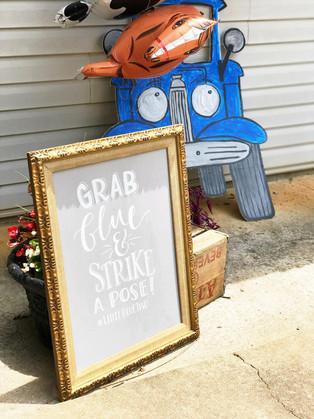 DIY: Little Blue Truck Photo Prop