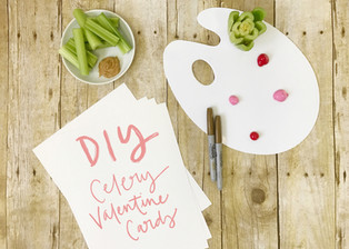 DIY: Celery Valentine Cards in 8 Simple Steps