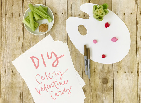DIY: Celery Valentine Cards in 8 Simple Steps