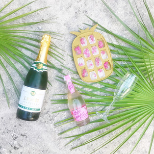 Summer Sips Series: Pink Pineapple Bubbly