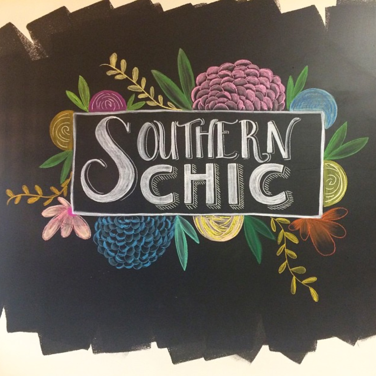 Boutique Chalk Art Signage