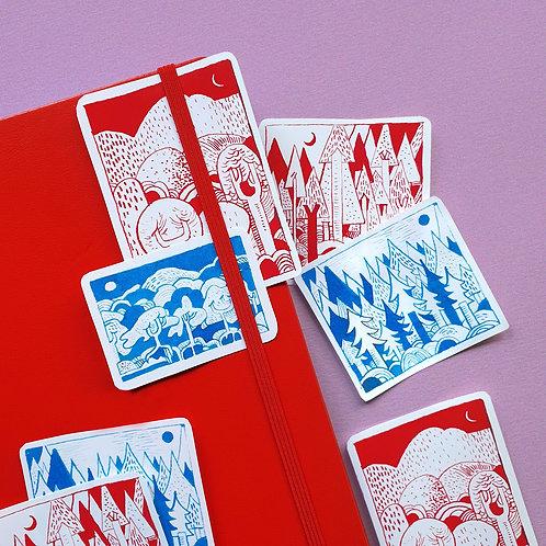 Landscapes Sticker Pack