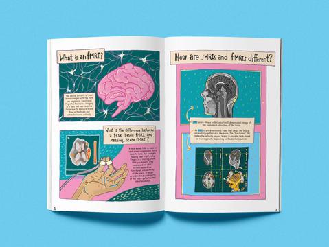 A Mini Guide to fMRIs: A Zine