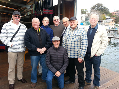 Tiger Old Boys Reunion at the Balmain JB Sharp