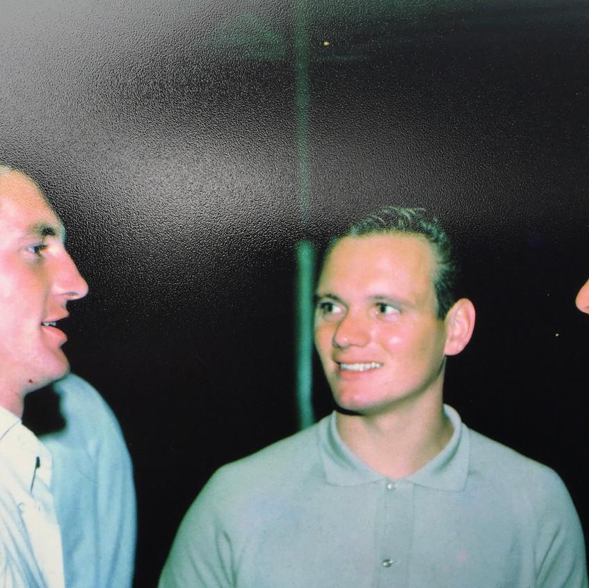 Gary Pearce, John Gray, Don Trimble