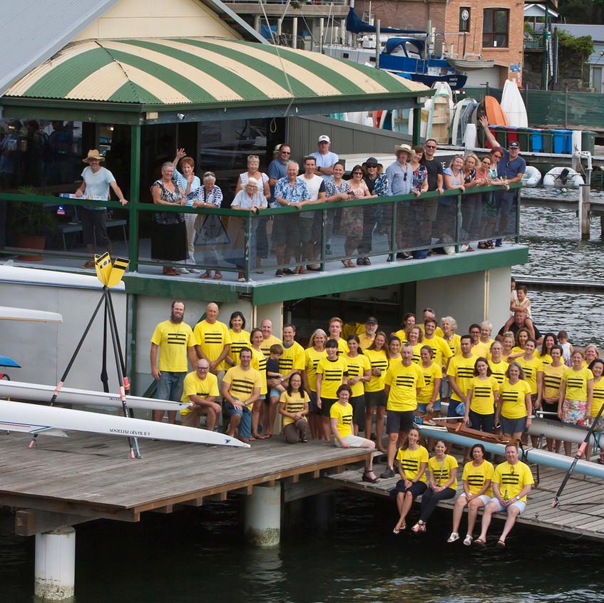 BRC yellow shirts