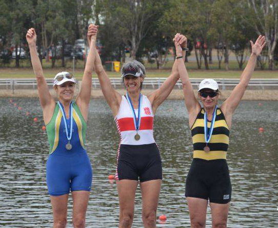 WMD 1 x Bronze Medalist, Janine Lippi