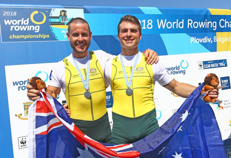 BRC's James Talbot wins silver at the World Rowing Championships!