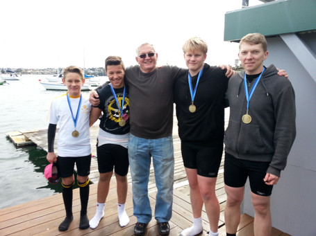 BRC proudly hosts the fourth JB Sharp Regatta in tough conditions!