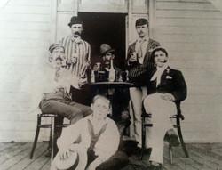 1896 winners Yaralla Cup Yeend (with Pipe) cox W Smith