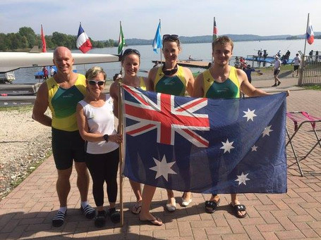 Australia's LTA Mixed Coxed Four qualify boat for 2016 Rio Paralympic Games!!!