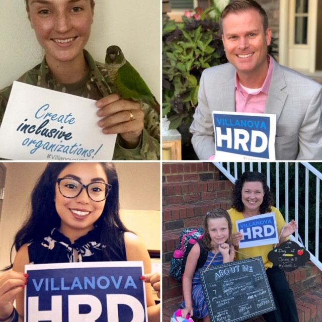 Get to know some of our #VillanovaHRD students! | #VUHRDStory