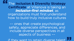 New Inclusion & Diversity Strategy Certificate Launch