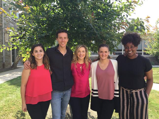 Meet the '17-'18 #VUHRD Grad Assistants!