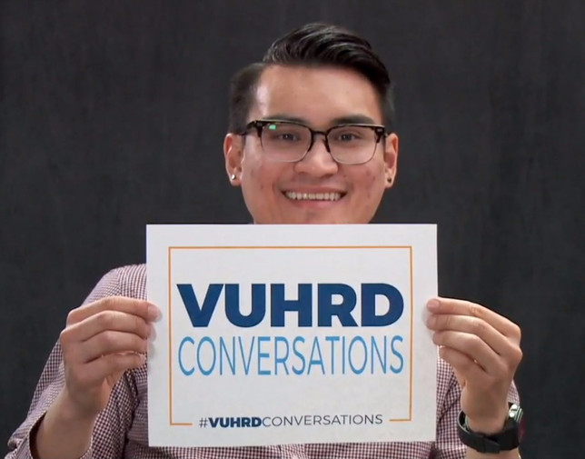 #VUHRDConversations: A Discussion with Current VUHRD Student, Michael Phan