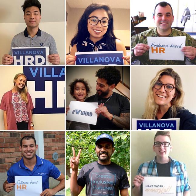Meet our #VillanovaHRD Student Leaders | #VUHRDStory