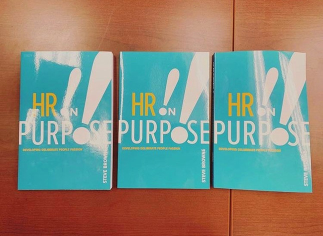 BIG NEWS: All #VUHRDANR attendees will take home a copy of Steve Browne's book, HR on Purpose!!