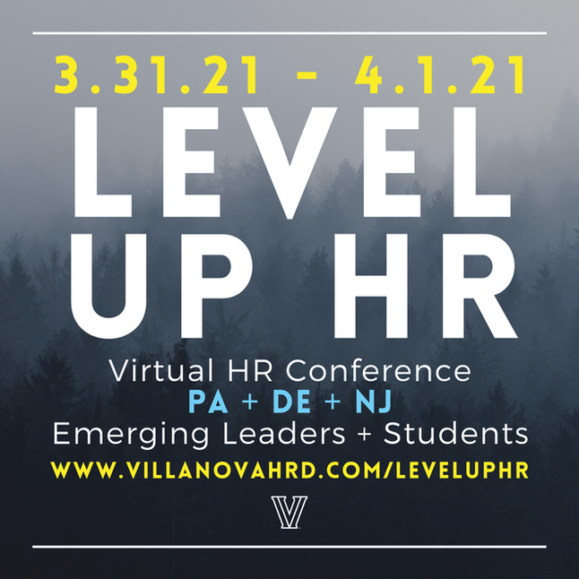 LEVEL UP HR | A Virtual Conference for HR Emerging Leaders + Students