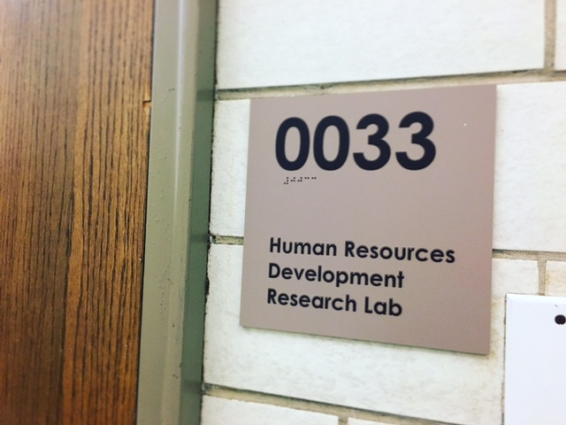 Workplace Research in the #VUHRD Lab: What we've done and where we're headed!
