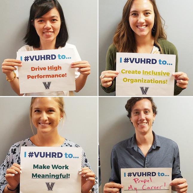 Why Do You #VUHRD?