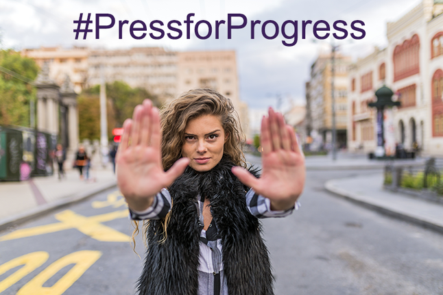 #PressforProgress | Celebrating International Women's Day 2018