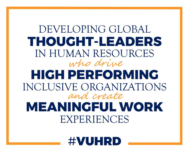 Impact of mission and vision statements in organizations: A compelling vision for #VUHRD
