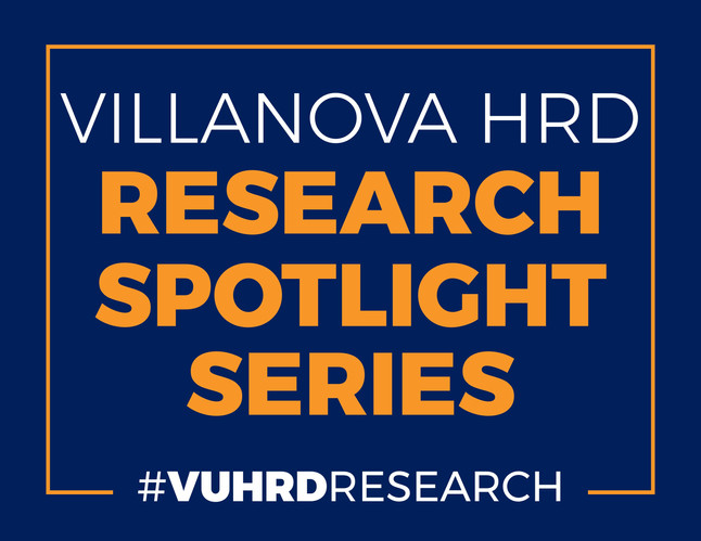 Introducing the #VUHRD Research Spotlight Series - Coming soon to a blog near you!