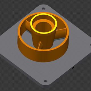 CAD 3D printed parts