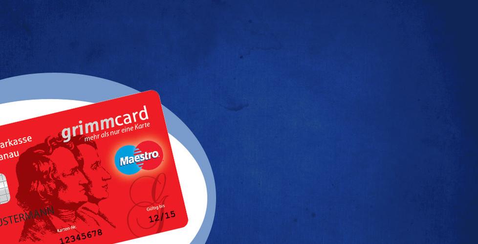 Mit der GrimmCard (bzw. EC-Karte der Sparkasse Hanau) jetzt 10% Rabatt auf alle Dienstleistungen sichern!