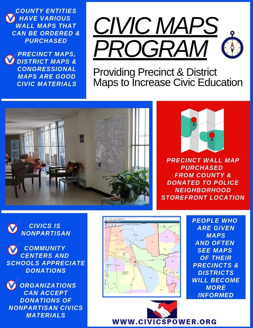 Civics Power - Civic Maps Program