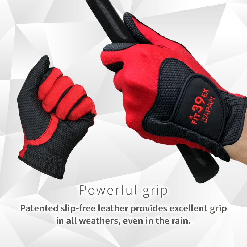 Fit39 Glove: Powerful grip