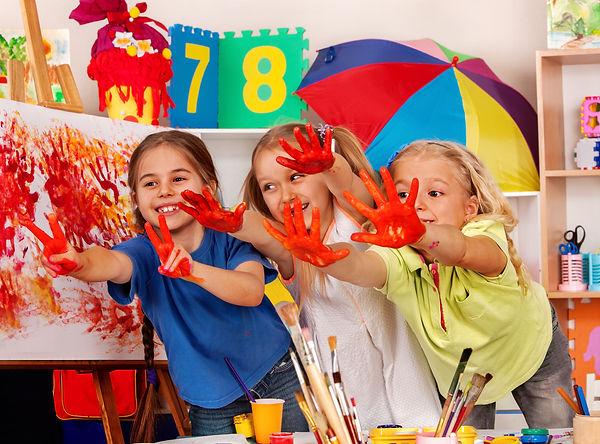 bigstock-Children-painting-finger-on-ea-