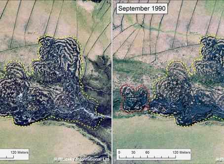 Bluesky's Old Aerial Photos Help Geomatics Students Monitor Landforms